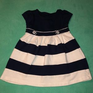 3 for $20 💜 Navy and White Striped Dress